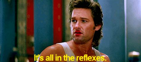 Big Trouble In Little China Meme - its all in the reflexes gifs find share on giphy