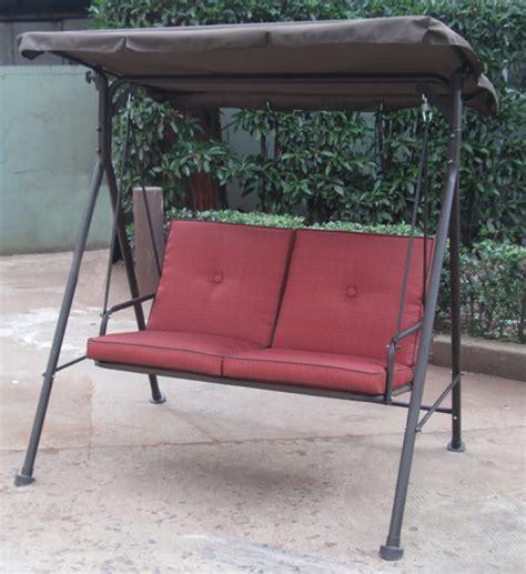 shop home garden patio furniture 2 seat cushion swing