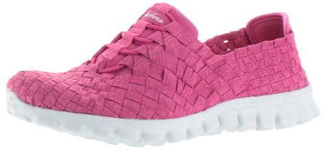 Skechers Active Ez Flex Woven Women's Slip On Sneakers