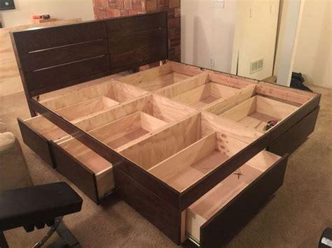ways     platform bed  storage