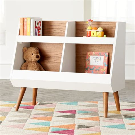 walnut  white mid century bookcase reviews crate