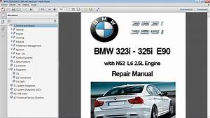 Bmw 323i  U0026 325i E90 Workshop Repair Manual - Manual De