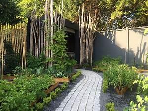 Paysager Son Jardin : cr ation d 39 un jardin paysager avec potager pessac ducos paysages ~ Dallasstarsshop.com Idées de Décoration