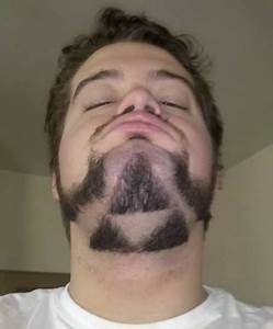 A man has grown a Triforce beard and nothing will ever be ...