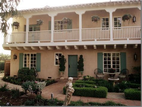 cindy hattersleys spanish colonial home  monterey county  gardens  pure south