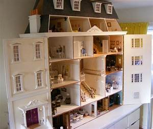 My Grand Georgian Dolls House by Jazz - Dolls' Houses Past