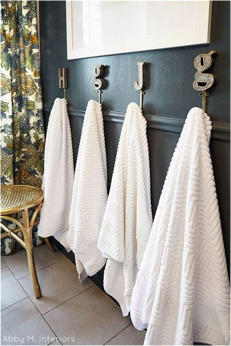 towel display ideas  contemporary bathrooms
