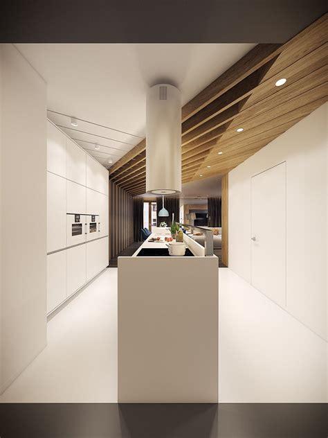 dramatic interior architecture meets elegant decor