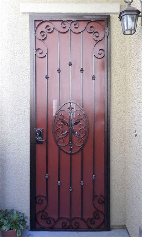 security doors puertas de metal puertas de hierro