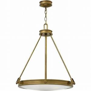 Traditional inverted ceiling pendant bronze fitting opal