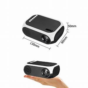 1080p Portable Full Hd Mini Led Projector 3d Home Theater