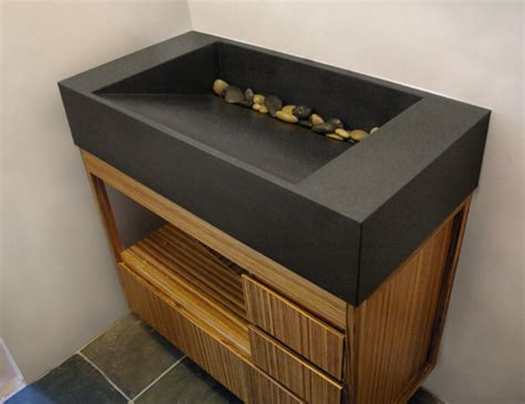 concrete sink concrete ramp sink trueform decor