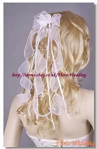 GIRL COMMUNION HEADPIECEBRIDAL WEDDING RIBBON BOW VEIL EBay