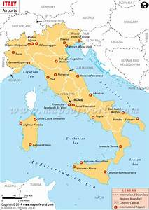 Airports in Italy, Italy Airports Map