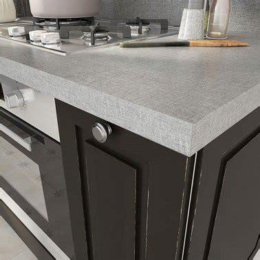 plan de travail cuisine gris aspect textile gris cuisine plan de travail castorama