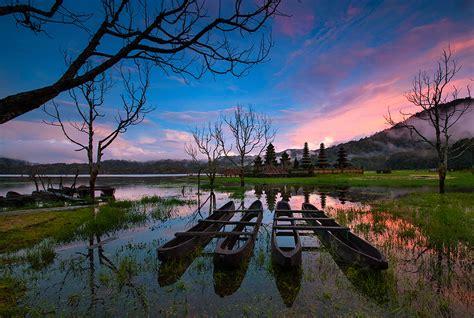 danau tamblingan sejuknya panorama alam  menawan bali