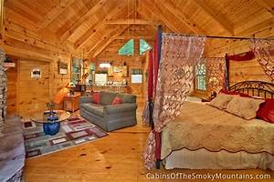 gatlinburg cabin honeymoon magic 1 bedroom sleeps 4 With honeymoon cabins in gatlinburg