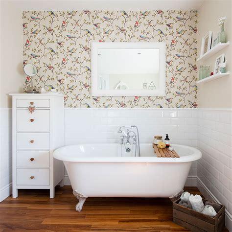 bathroom wallpaper ideas   elevate  space