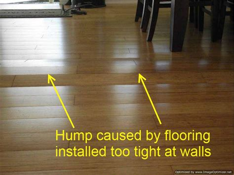 laminate flooring expansion gap what happens to laminate flooring without an expansion gap