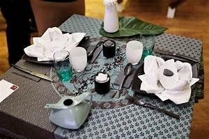 Comment Faire Une Dcoration De Table Zen Couteaux