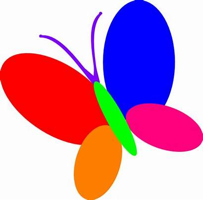 Butterfly Clipart Multi Clip Block Borders Colors
