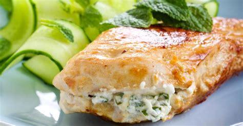 cuisiner les filets de poulet recette de filets de poulet farcis au basilic et fromage