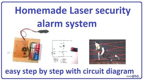 How Make Laser Security Alarm System Easy Home