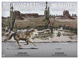 LOOK: Blue Jackets' incredible game-day posters reviving ...