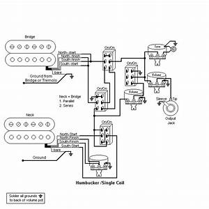 Wiring Diagram  Fender Hh