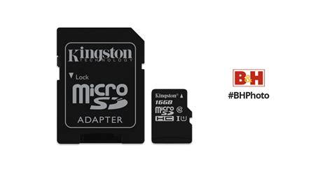 kingston gb canvas select uhs  microsdhc memory card