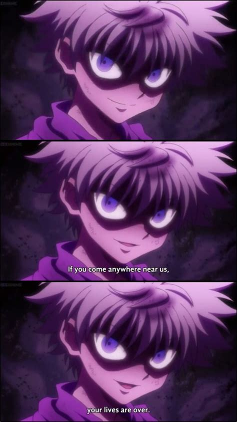 killua killua hunter  hunter hunter fans