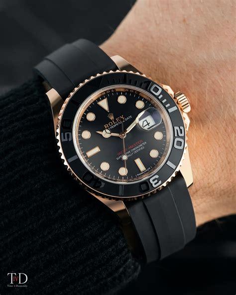 Rolex Yacht-Master 40 18ct Everose Gold Black Dial 116655 ...