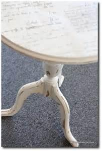 Mod Podge Table Top