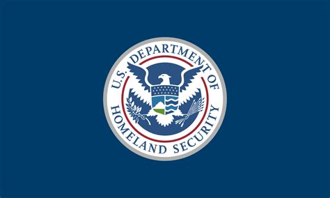 Flag Of The United States Department Of Homeland