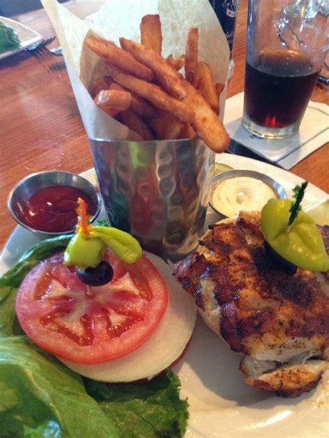 florida grouper venice sandwich nest charm crow grilled gulf frites