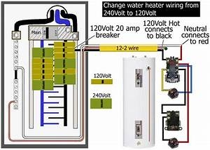 120  240v Household Water Heater Installed And Working