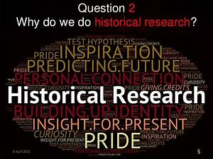 13 Questions in Historical research Oral history