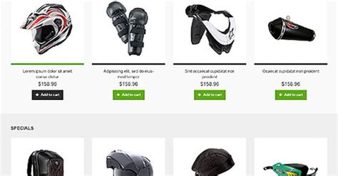 Design Template Magento Bootstrap by Template 46436 Motorcycle Store Responsive Magento