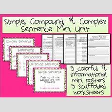 Simple Compound Complex Sentences, Compound Complex Sentence And Compound Complex On Pinterest