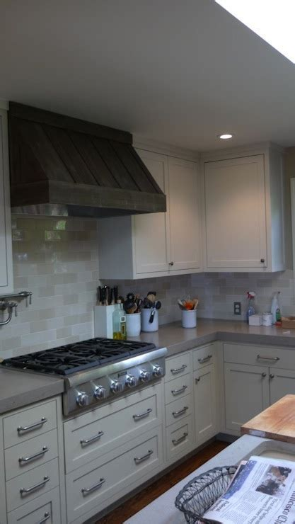 Ivory Shaker Cabinets   Transitional   kitchen   Artistic