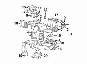 2003 Ford Explorer Hvac Floor Mode Door Actuator  Air