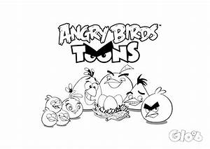 angry bird chuck coloring pages