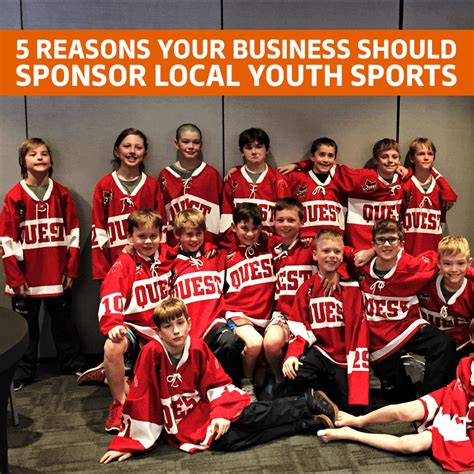 5 Reasons Your Business Should Sponsor Local Youth Sports