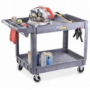 Astro Pneumatic 2-shelf Heavy-duty Plastic Industrial ...