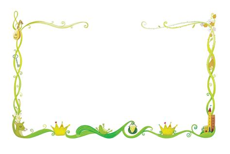 Fairy Tale Border Clip Art Clipart Collection