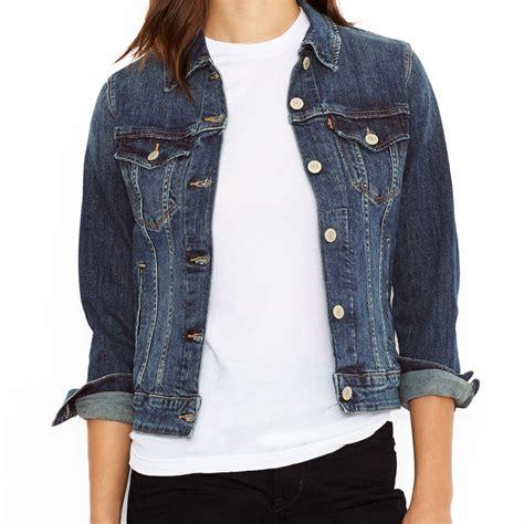 veste en jean troué veste en femme levis