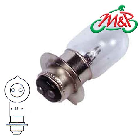 motorcycle headlight bulb motorbike 12v 18 18w mpf mini