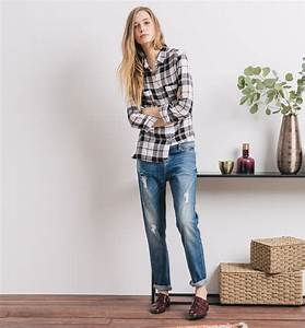 pin look mode chemise jean legging bootsjpg on pinterest With chemise a carreaux femme