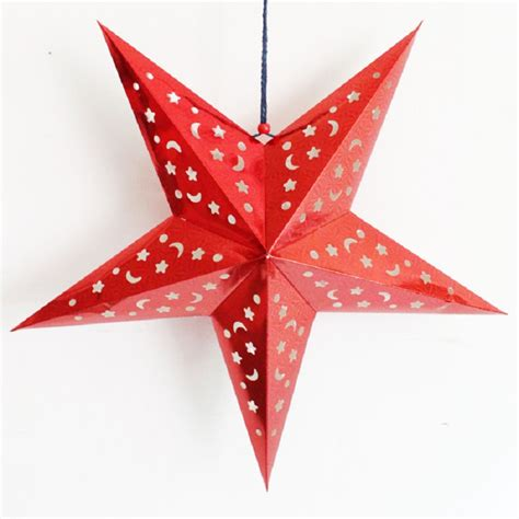 hanging star christmas lights 40 best christmas star decorations all about christmas