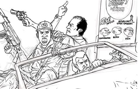 Grand Theft Auto 5 Coloring Pages Coloring Pages